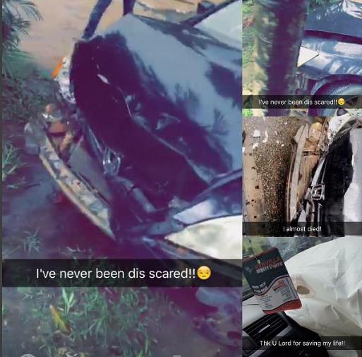 Nollywood Actress Queen Wokoma Survives Fatal Accident