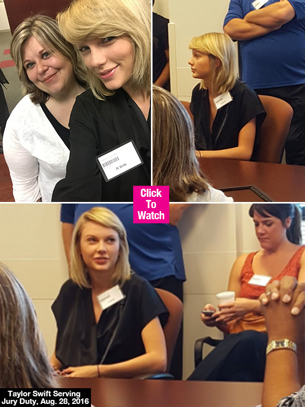 Taylor Swift Skips Out On VMAs To Rest Up For Jury Duty — Takes Selfies With Other Jurors