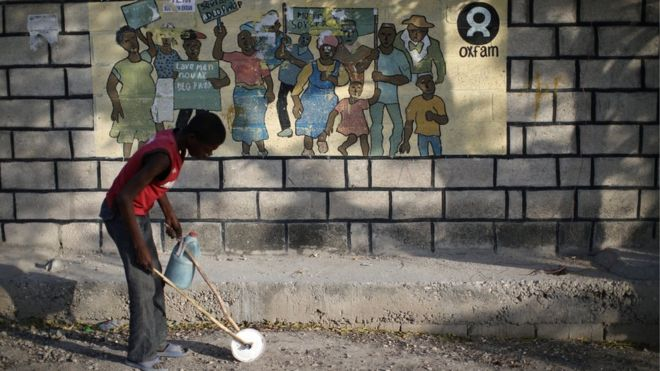 Oxfam Haiti scandal: Suspects 'physically threatened' witnesses