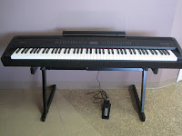 Roland FP80 digital piano control panel
