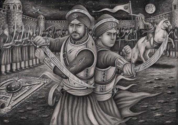 Shahidi Diwas Baba Ajit and Jujhar Singh