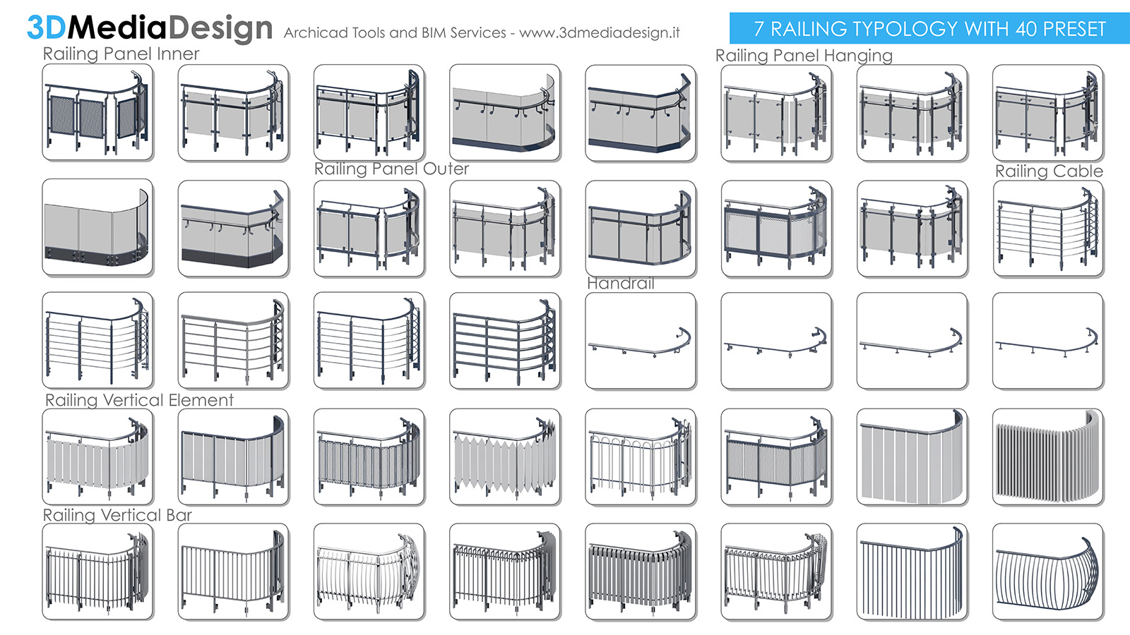 Archicad Fence
