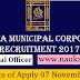 Kolkata Municipal Corporation Recruitment 2017– Medical Officer Posts