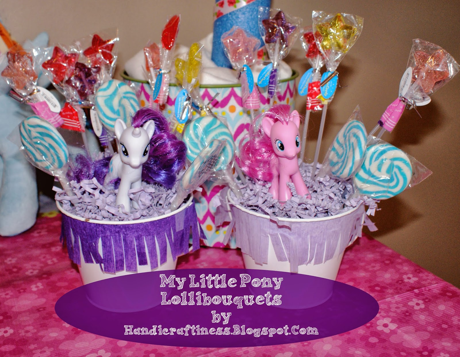 The Pretty Kitty Studio My Little Pony Grand Finale Birthday Decoration Ideas Diy