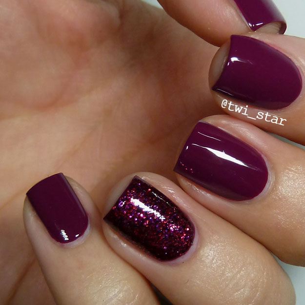 Deep Wine Nail Polish: Nail Art Blog: OPI James Bond Collection Casino