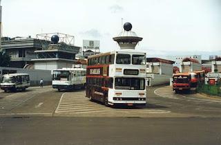 Suasana Terminal Blok M Mall,  skitar tahun 93-95