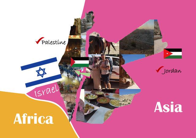 25歲的世界之旅 第14、15國 以色列、巴勒斯坦 實記