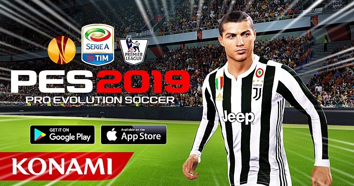 DOWNLOAD PES 19 ANDROID LITE PPSSPP | camera ps4 [ ronaldo
