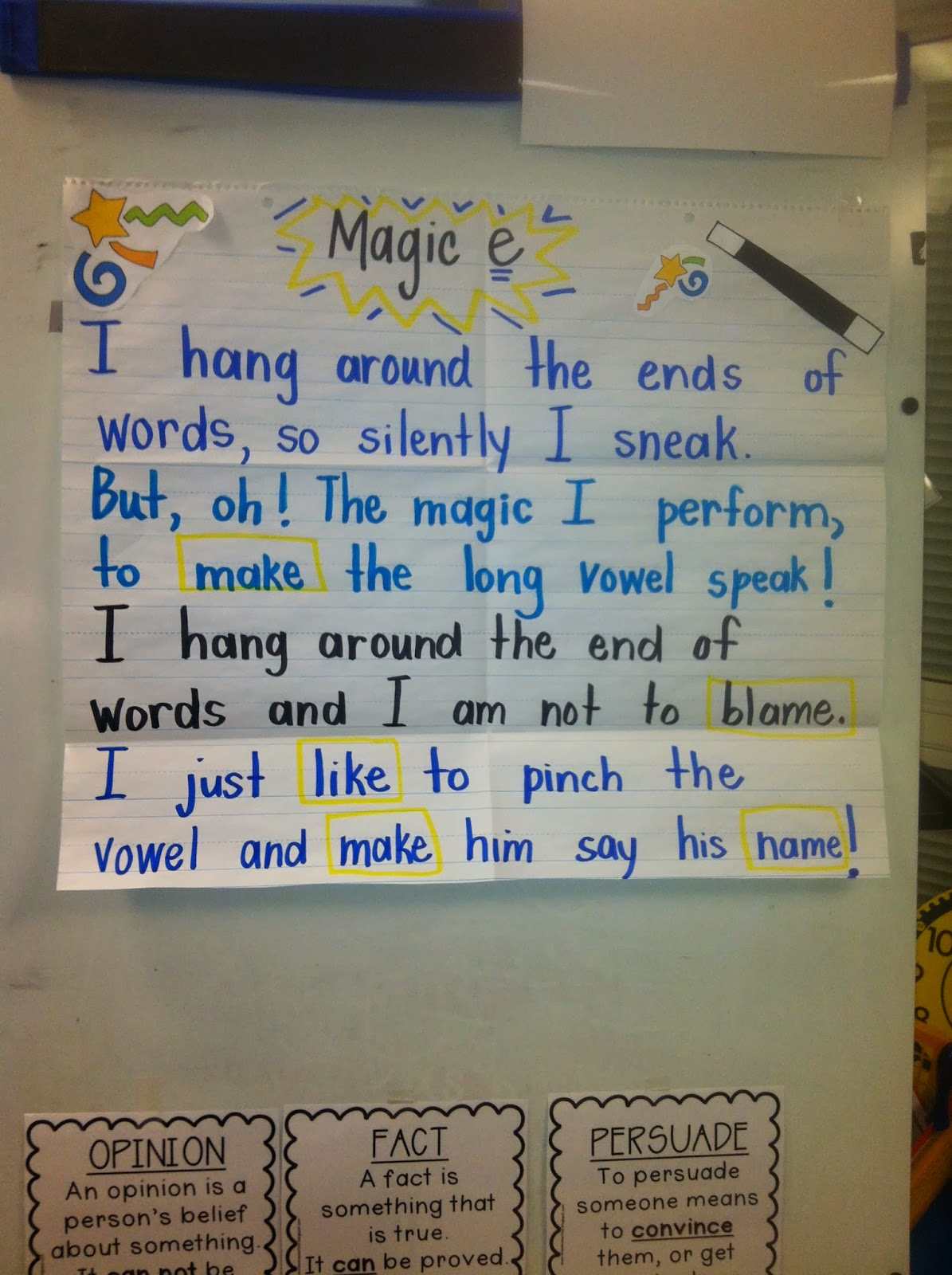 Mrs Wheeler S First Grade Tidbits Magic E