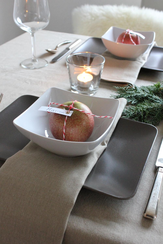 Wolkenfees K Chenwerkstatt Tischdekoration Zum 1 Advent