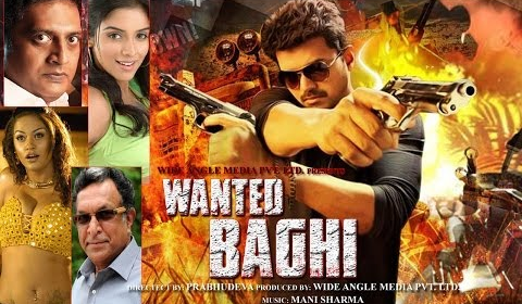 Wanted Baghi 2014 Hindi Dubbed 400mb WEBRip 480p