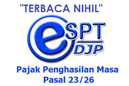 Solusi File CSV eSPT PPh 23 Terbaca Nihil Saat Dilaporkan