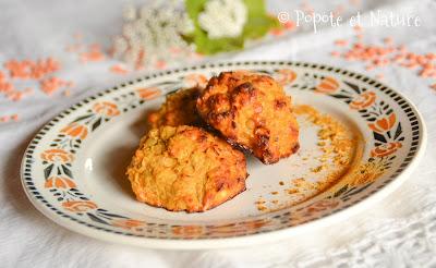 Croquettes de patates douces et lentilles corail au curry © Popote et Nature