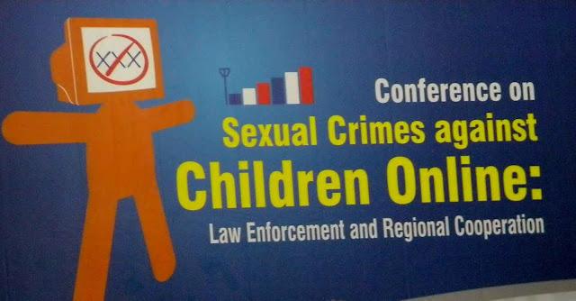 Conferência sobre crimes sexuais online contra crianças. Preocupação até na Indonésia.