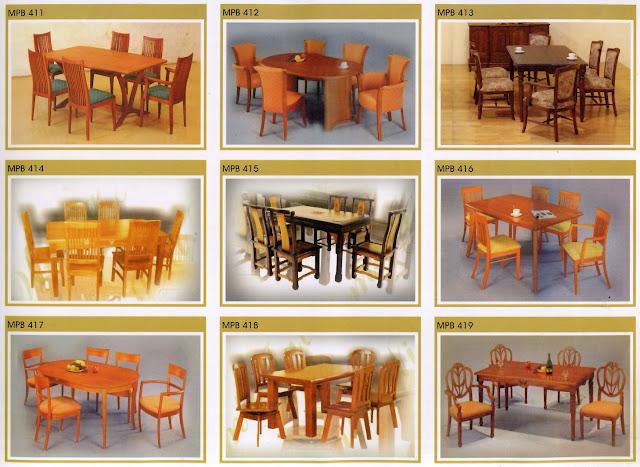 set kursi meja makan