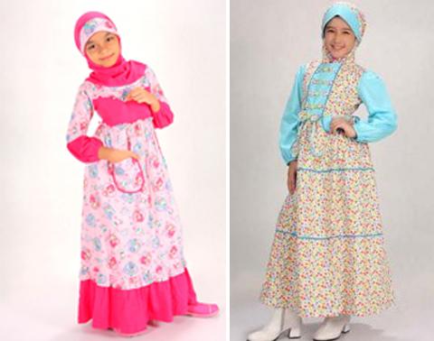 Model Baju Muslim Anak Perempuan Terbaru 2016