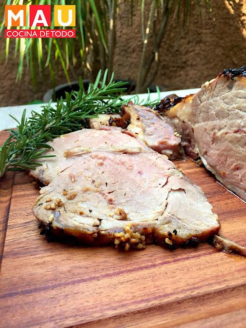 roast beef de ribeye al horno facil receta para navidad jugoso suavecito
