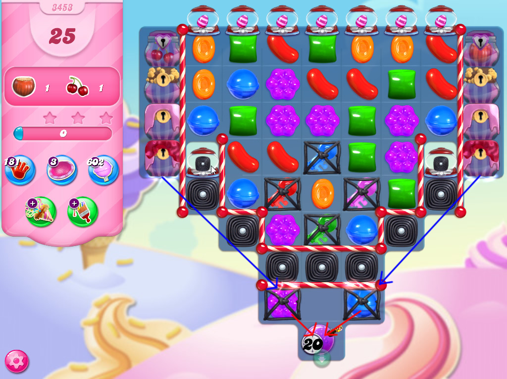 Candy Crush Saga level 3453