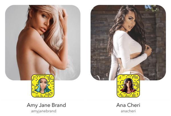 20 mulheres sexy para seguir no Snapchat
