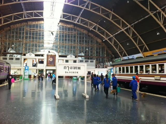Hua Lumphun train station in Bangkok, Thailand