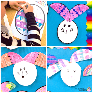 Easter Bunny Egg Craft