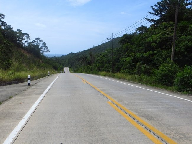 Идеальная тайская дорога