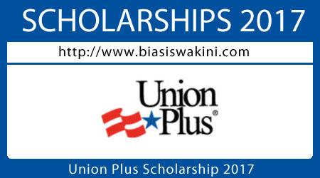 Union Scholarship 2017