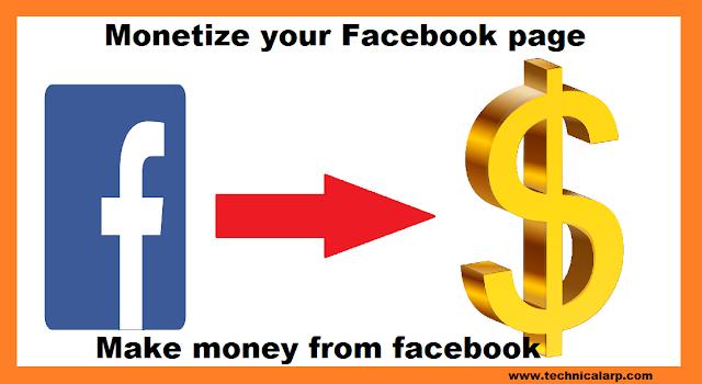 Facebook Monetize Title Image