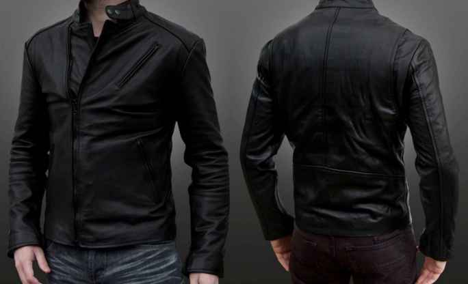 desain jaket kulit imitasi