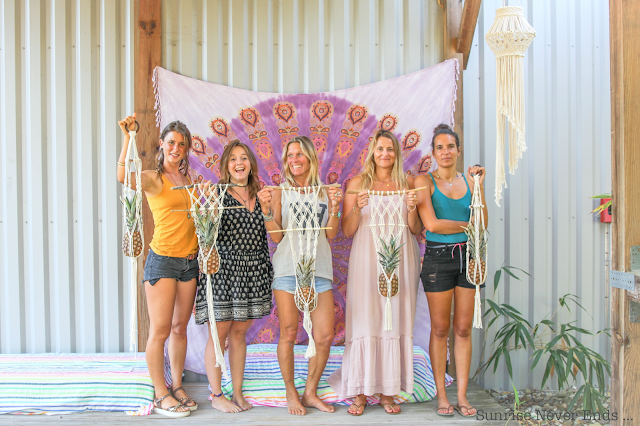 ananaslovesmacrame,macramé,macrame workshop,workshop,hossegor,atelier de macramé,samudra yoga,billabong womens europe,julie eye see