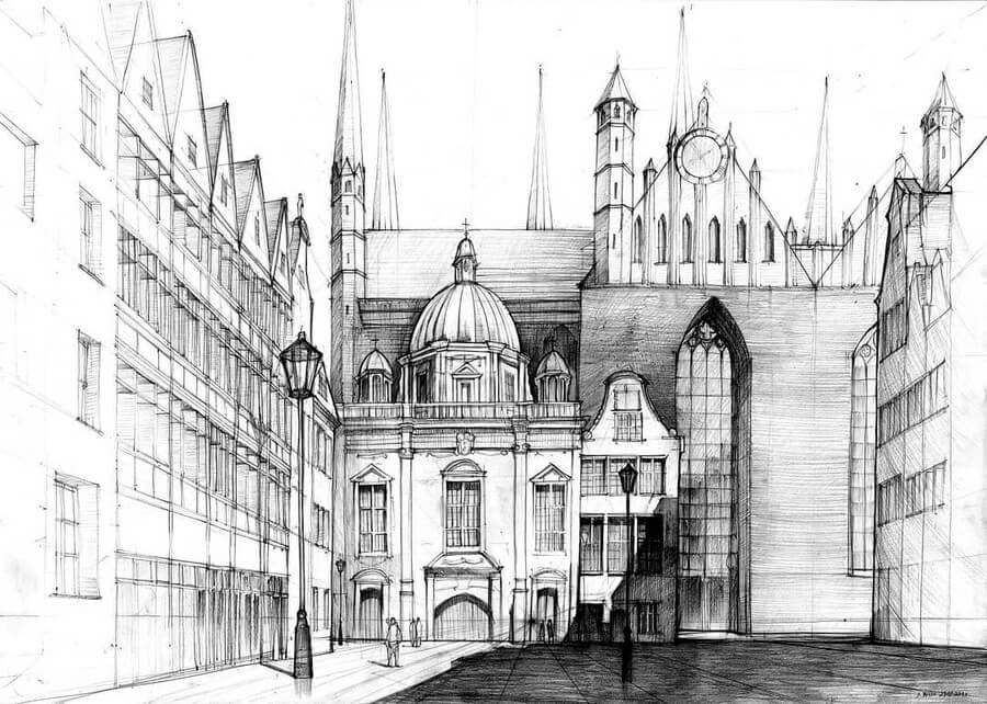12-Galeria-Gdańsk-Gdańsk-Architectural-Drawings-by-Students-www-designstack-co