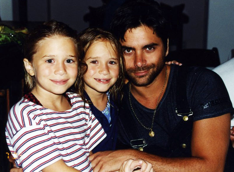Image result for john stamos and mary kate and ashley
