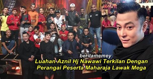 Luahan Aznil Hj Nawawi Terkilan Dengan Perangai Peserta Maharaja Lawak Mega 2017