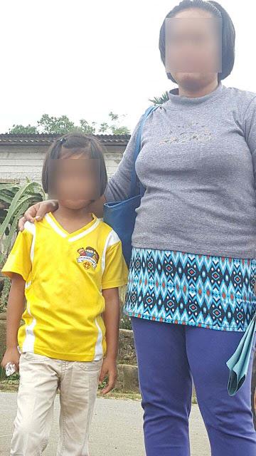 Korban pencabulan FS bersama ibunya MMS.