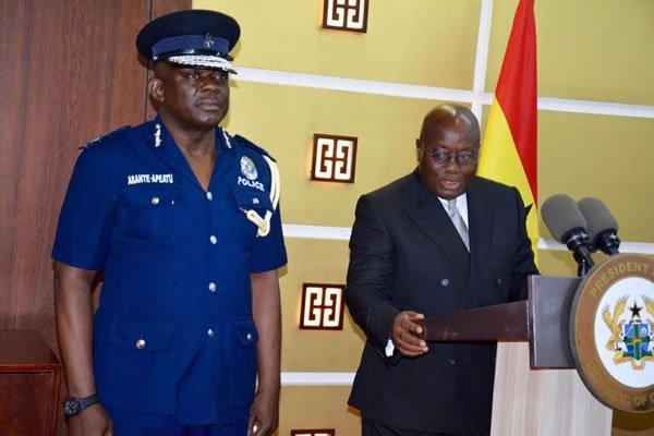 Akufo-Addo Names COP Asante-Apeatu As New IGP