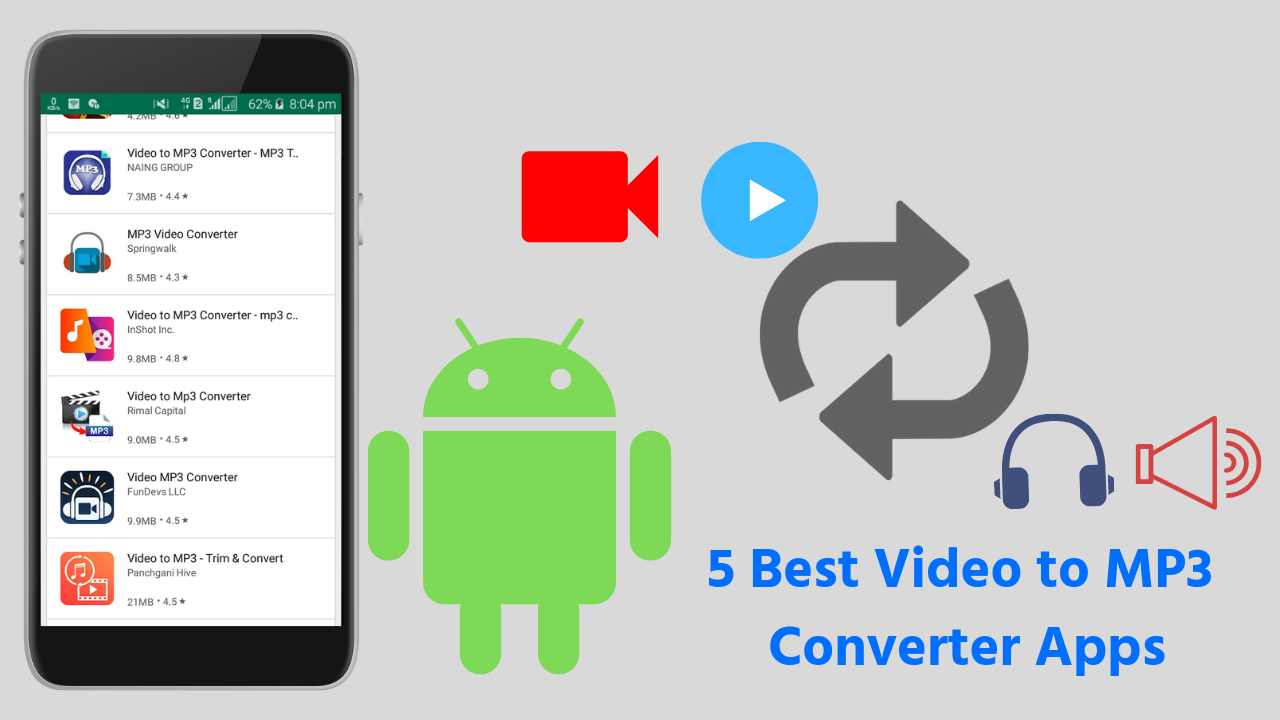 mp3 converter apps for android