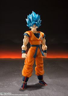 "S.H.Figuarts Super Saiyan God Super Saiyan Son Goku de ""Dragon Ball Super: Broly"" - Tamashii Nations"