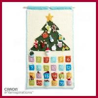 Calendario de adviento a crochet