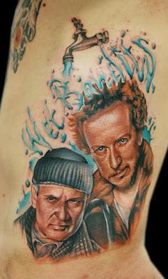 Tatuaje Villanos Mi Pobre Angelito (Wet Bandits)