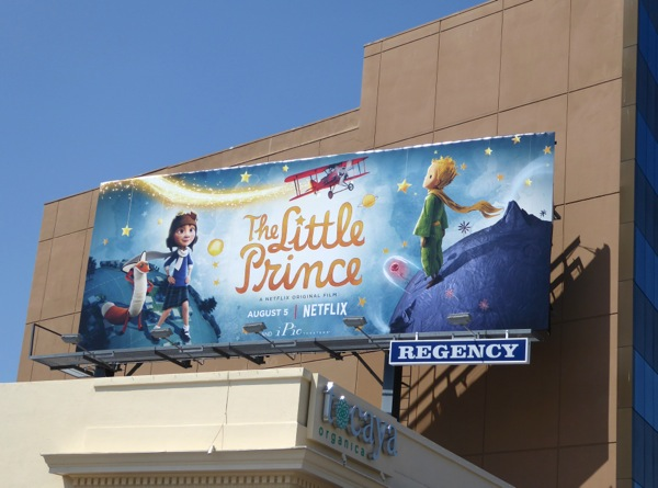 Little Prince film billboard