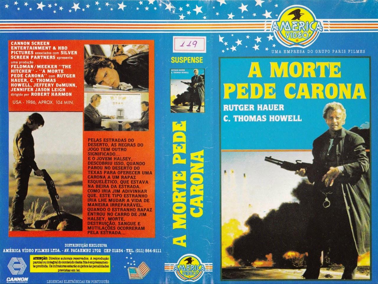 Filme - A Morte Pede Carona Capa
