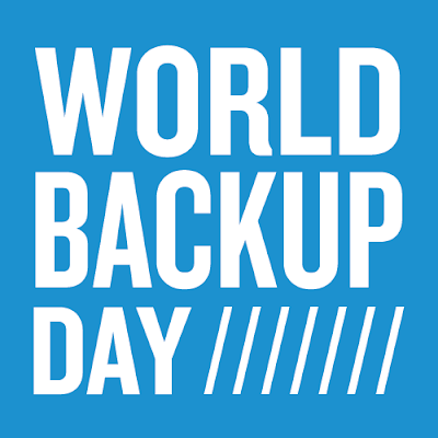 box that says World Backup Day