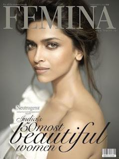Deepika Padukone Femina Magazine Cover