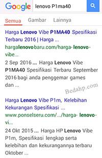 Cara Melihat Tipe HP Lenovo Asli