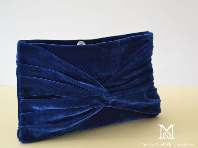 diy, fashion diy, velver clutch bag, tutorial, how to