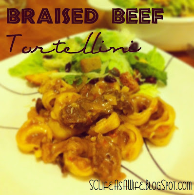 Sc life as a wife braised beef tortellini - Olive garden braised beef tortellini recipe ...