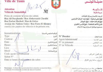 Police de Tunis