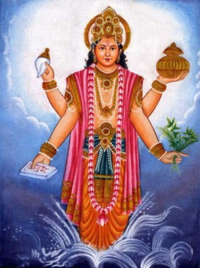 Hindu God Dhanvantri pic