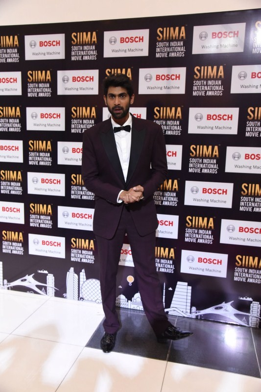 Rana Daggubati and Nani at SIIMA Awards 2017 Stills