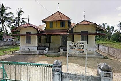 Istana Gunung Sahilan, Peninggalan Bersejarah di Riau